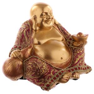 Decorative Chinese Buddha Figurine - Small