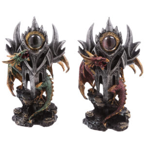 Eye of the Sword Dark Legends Dragon Figurine