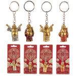 Fun Collectable Lucky Buddha Keyring