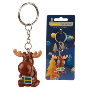 Fun Collectable Magnus the Moose Keyring