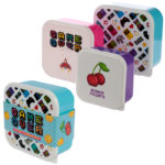 Fun Game Over Design Set of 3 Plastic Lunch Boxes