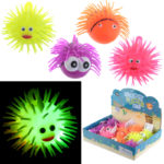 Fun Kids Light Up Squidgy Fish Puff Pet