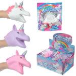 Fun Kids Novelty Unicorn Hand Puppet