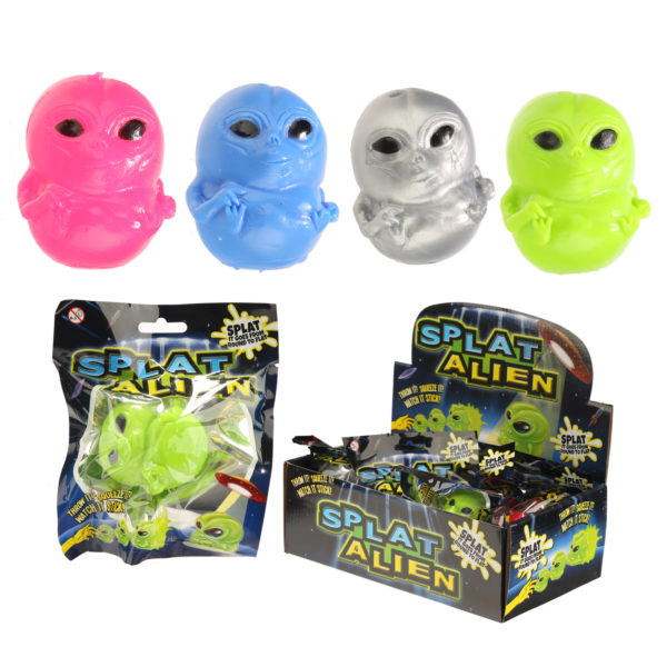 Fun Kids Splat Alien Ball