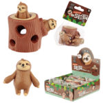 Fun Kids Squeezy Hide and Seek Sloth Toy