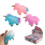 Fun Kids Squeezy Soft Unicorn Toy
