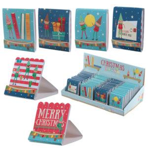 Fun Nail File Matchbook - Christmas Elf