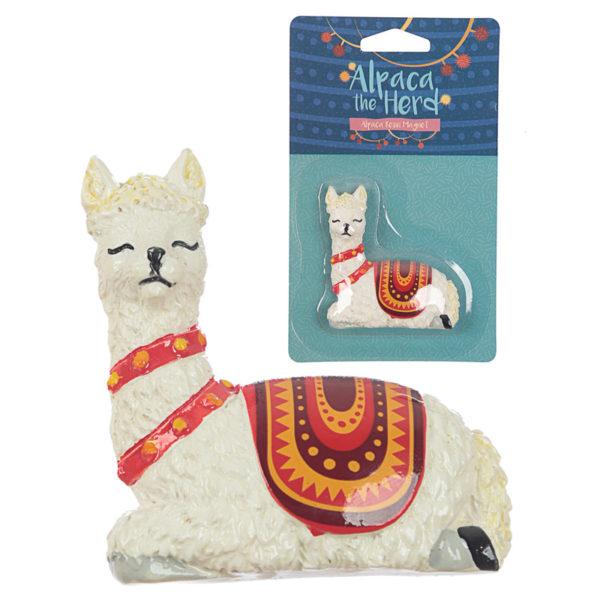 Fun Novelty Alpaca Collectable Magnet