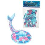 Funky Inflatable Drinks Holder - Mermaid Tail