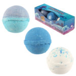Handmade Bath Bomb Set of 3 – Exotic Mermaid Fragrance Gift Box