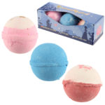 Handmade Bath Bomb Set of 3 - Sweet Princess Fragrance Gift Box