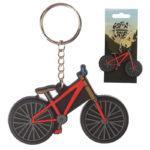 Novelty PVC Keyring – Cycling Bike Design