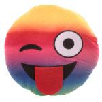 Rainbow Wink Emotive Cushion