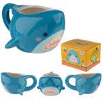 Fun Collectable Shark Head Ceramic Mug
