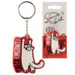 Fun Collectable Simon's Cat Keyring