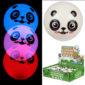 Fun Kids Bouncy Flashing LED Panda Ball