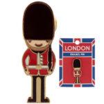Novelty London Guardsman Design Enamel Pin Badge