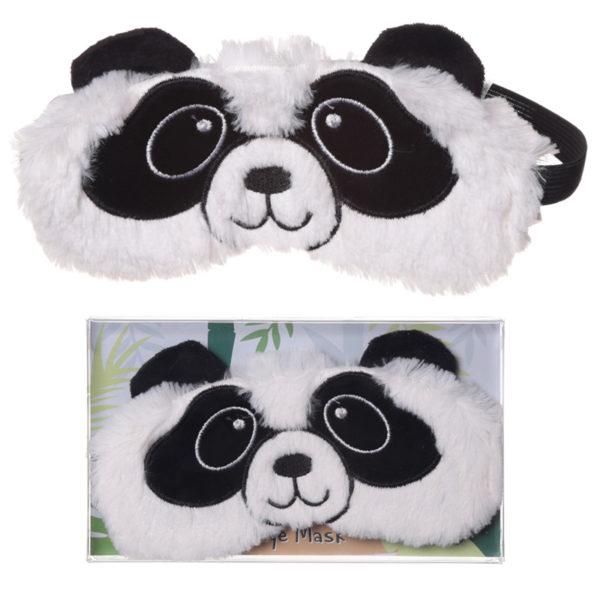 Fun Eye Mask - Plush Pandarama Design
