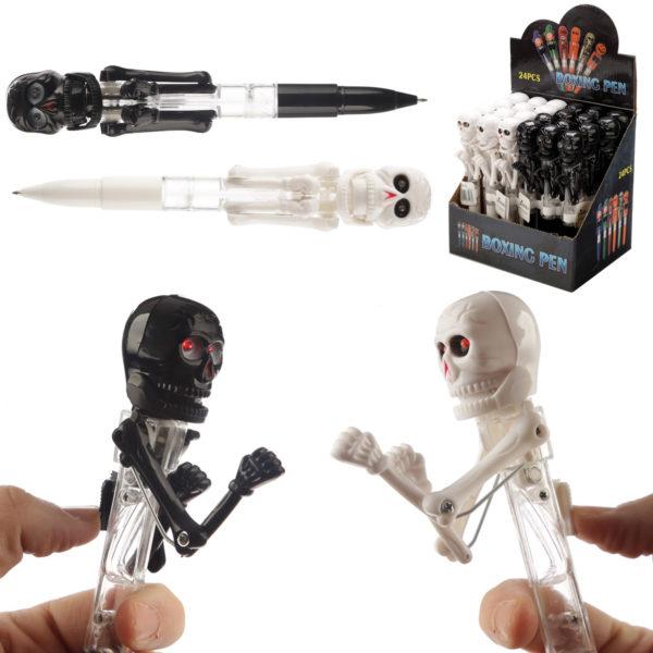 Fun Boxing Skeleton Pen