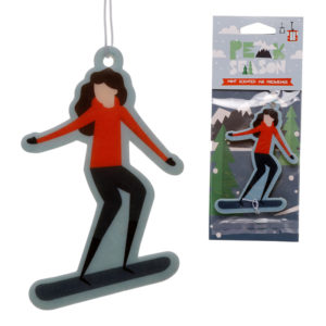 Snowboarding Mint Scented Air Freshener