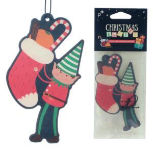 Christmas Elf Festive Spice Scented Air Freshener