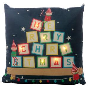 Decorative LED Cushion - Christmas Elf