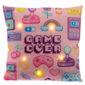 Decorative LED Cushion - Retro Gaming Next Gen