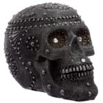 Fantasy Beaded Large Skull Ornament