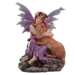 Forest Friendship Spirit of the Forest Fairy Figurine