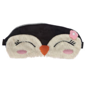 Fun Eye Mask - Plush Christmas Penguin