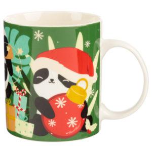 Christmas Porcelain Mug - Pandarama