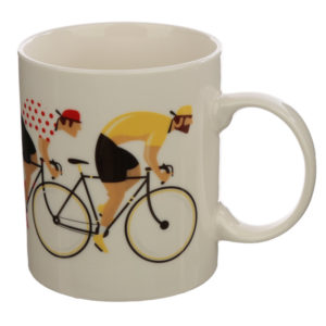 Collectable Porcelain Mug - Bicycle Cycle Works