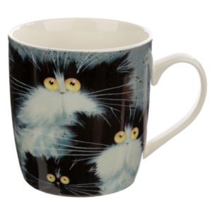 Collectable Porcelain Mug - Kim Haskins Cats