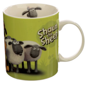 Collectable Porcelain Mug - Shaun the Sheep