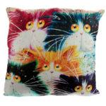 Cushion with Insert - Kim Haskins Cat
