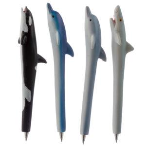Cute Novelty Sea Creature Pen - Dolphin, Shark, Whale