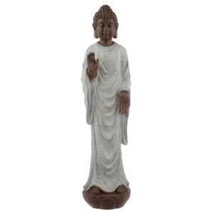 Decorative Turquoise and Brown Buddha Figurine - Peace