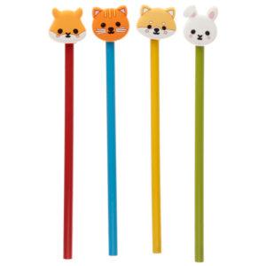 Fun Cutiemals Novelty Pencil with PVC Top