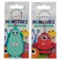 Fun Novelty Monster Monstarz PVC Keyring