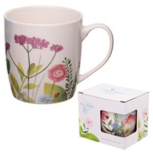 Porcelain Mug - Botanical Gardens Design