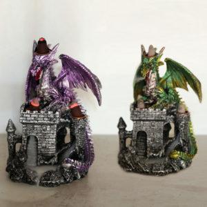 Backflow Incense Burner - Dragons Castle