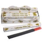 Californian White Sage Stamford Hex Incense Sticks