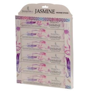 Jasmine Set of 6 Sacred Blu Incense Set