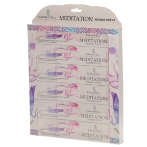 Meditation Set of 6 Sacred Blu Incense Set