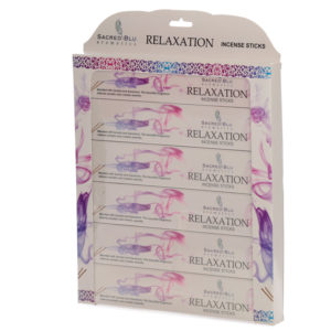 Relaxation Set of 6 Sacred Blu Incense Set