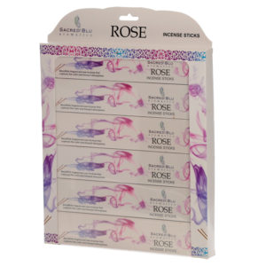 Rose Set of 6 Sacred Blu Incense Set