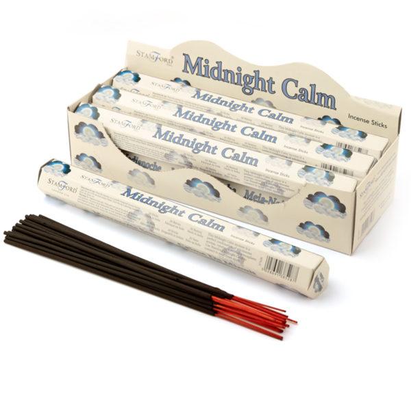 Stamford Hex Incense Sticks - Midnight Calm