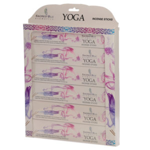 Yoga Set of 6 Sacred Blu Incense Set